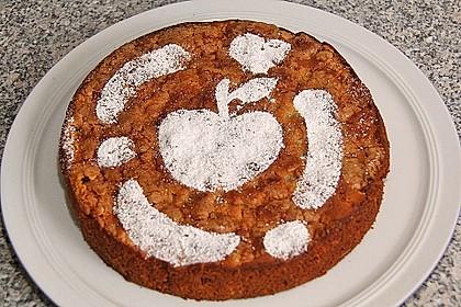Apfel - Frischkäse - Rührkuchen 20