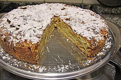 Apfel - Frischkäse - Rührkuchen 16