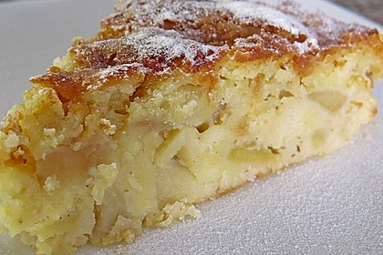 Apfel - Frischkäse - Rührkuchen 2