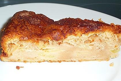 Apfel - Frischkäse - Rührkuchen 40
