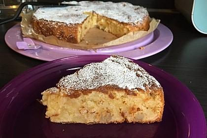 Apfel - Frischkäse - Rührkuchen 35