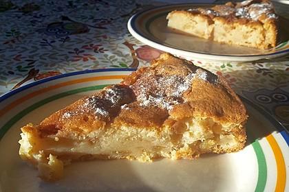 Apfel - Frischkäse - Rührkuchen 5