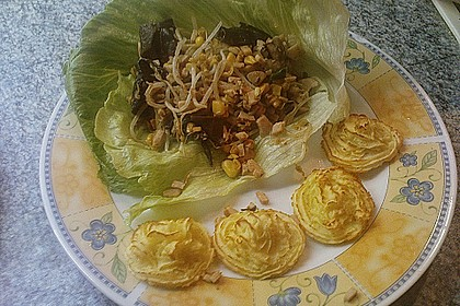 Truthahn San Choy Bau