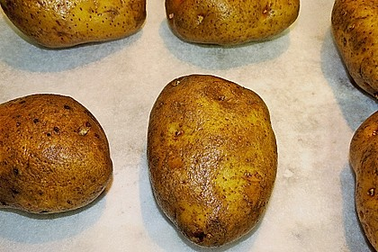 Backkartoffeln mit Frühlingsquark 11