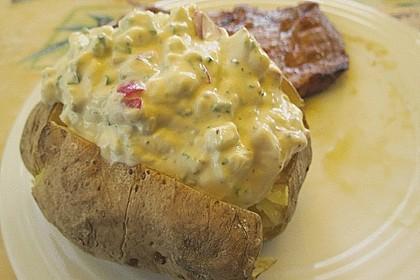 Backkartoffeln mit Frühlingsquark 6