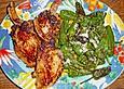 Schweinskarree - Koteletts mit Pimientos
