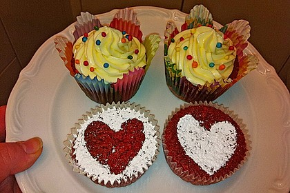 Red Velvet Cupcakes - für besondere Anlässe 55
