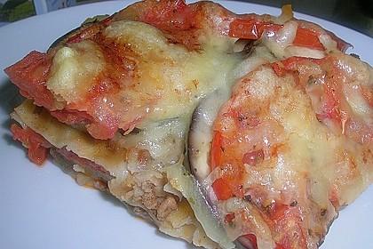 Tomaten - Auberginen - Auflauf mit Hackfleisch 1