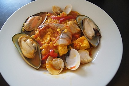 Rafis Fisch Paella 20