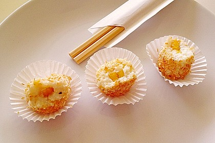 Sushi mal anders - süß als Dessert 7