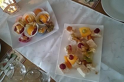 Sushi mal anders - süß als Dessert 8