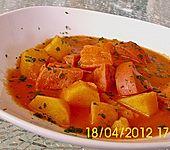 Kartoffelgulasch - einfach und schnell (Bild)