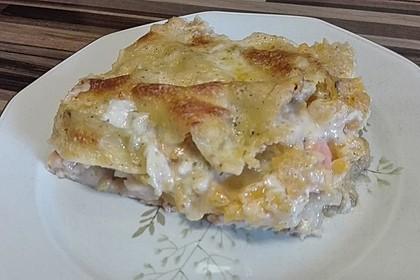 Kürbis - Lachs - Lasagne 31
