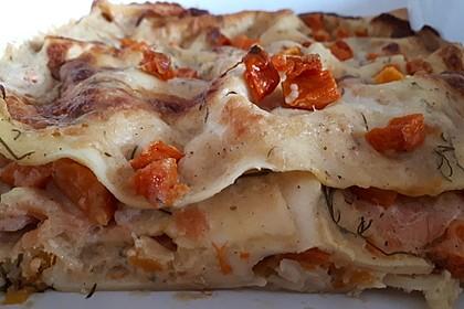 Kürbis - Lachs - Lasagne 36