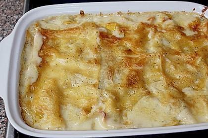Kürbis - Lachs - Lasagne 44