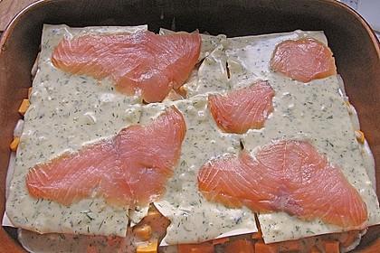 Kürbis - Lachs - Lasagne 43