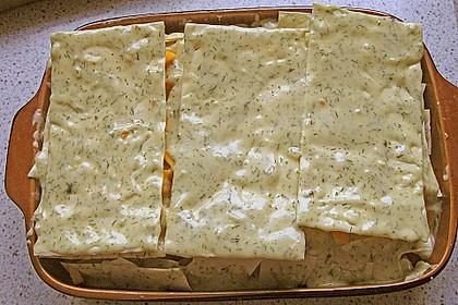 Kürbis - Lachs - Lasagne 57
