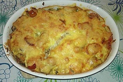 Kürbis - Lachs - Lasagne 80