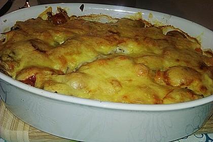 Kürbis - Lachs - Lasagne 68