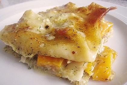 Kürbis - Lachs - Lasagne 33