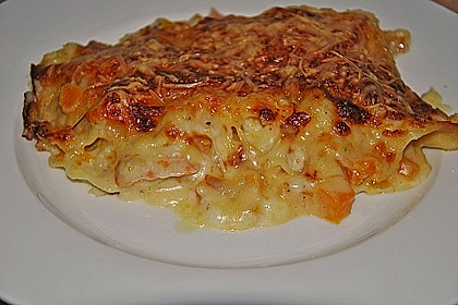 Kürbis - Lachs - Lasagne 26