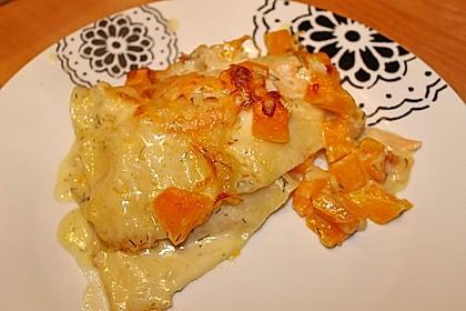 Kürbis - Lachs - Lasagne 27