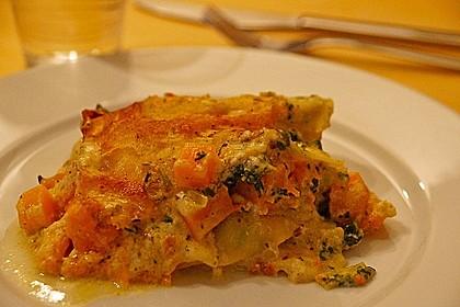 Kürbis - Lachs - Lasagne 21