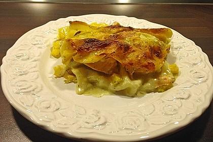 Kürbis - Lachs - Lasagne 35