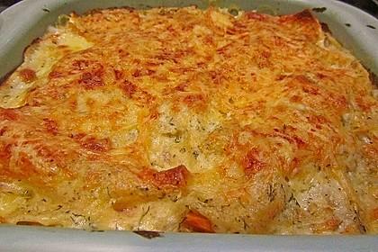 Kürbis - Lachs - Lasagne 66