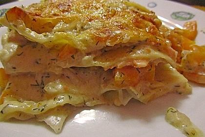 Kürbis - Lachs - Lasagne 19