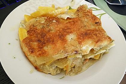 Kürbis - Lachs - Lasagne 22