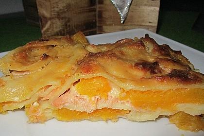 Kürbis - Lachs - Lasagne 23