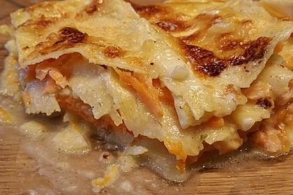 Kürbis - Lachs - Lasagne 52