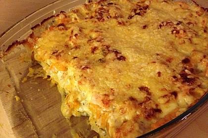 Kürbis - Lachs - Lasagne 50