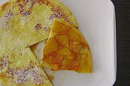 Apfel - Pfannkuchen 4