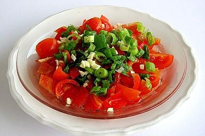Paprika - Tomaten Salat 3