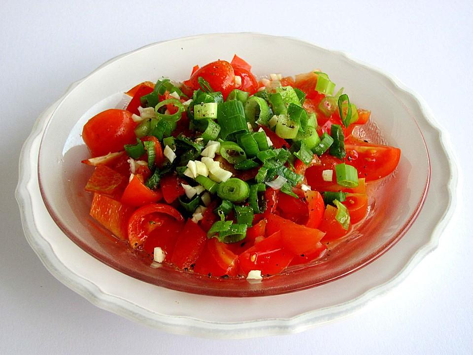 paprika tomaten salat von milz alfred. Black Bedroom Furniture Sets. Home Design Ideas