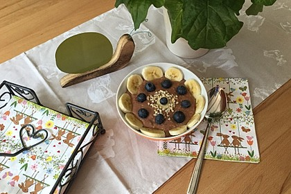 Schoko - Bananen - Kokos - Porridge 18