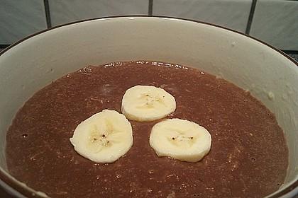 Schoko - Bananen - Kokos - Porridge 27