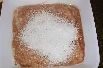 Schoko - Bananen - Kokos - Porridge 33
