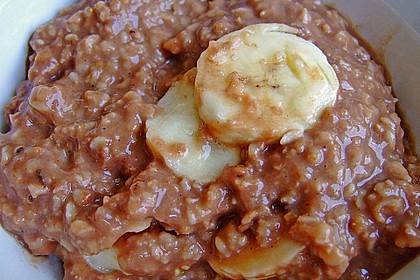 Schoko - Bananen - Kokos - Porridge 26