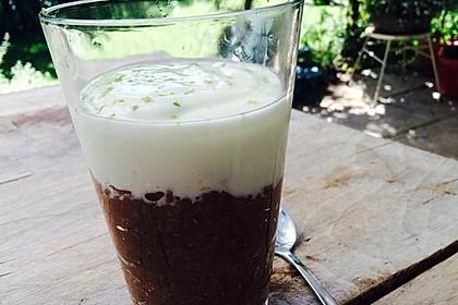 Schoko - Bananen - Kokos - Porridge 7