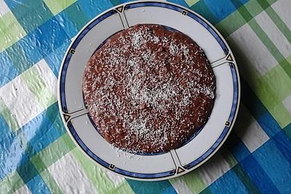 Schoko - Bananen - Kokos - Porridge 5