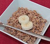 Schoko - Bananen - Kokos - Porridge