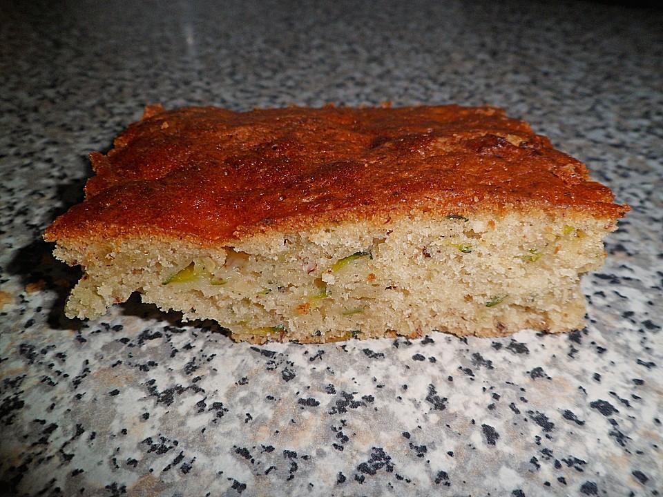 Zucchini kuchen zuckerfrei