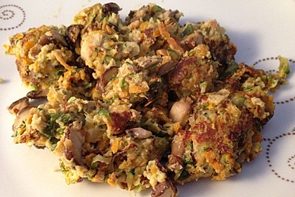 Gemüseschmarren mit Knoblauchdip 16