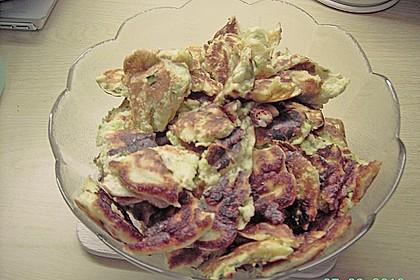 Gemüseschmarren mit Knoblauchdip 42