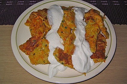 Gemüseschmarren mit Knoblauchdip 29