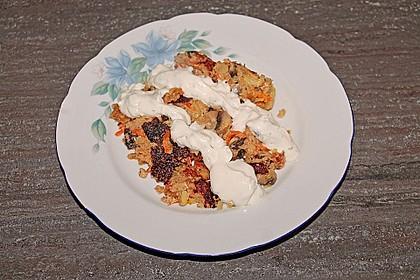 Gemüseschmarren mit Knoblauchdip 52