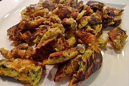 Gemüseschmarren mit Knoblauchdip 24
